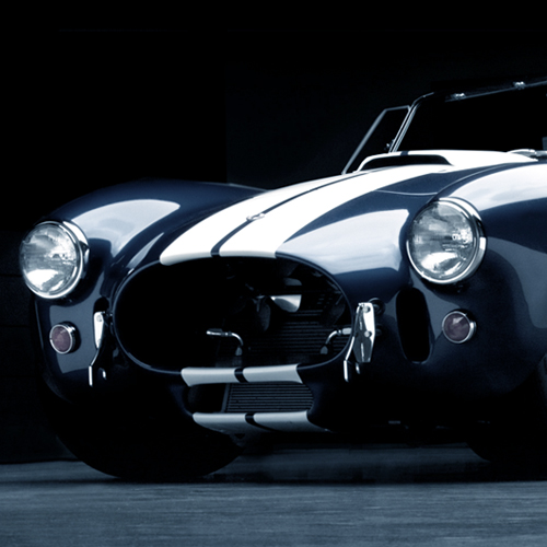 1:18 1964 SHELBY COBRA 427 S/C (MATTE BLACK VERSION)