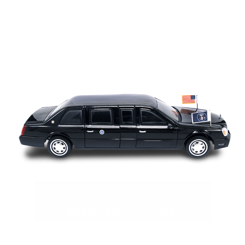 1:24 2001 CADILLAC DEVILLE PRESIDENTIAL LIMO